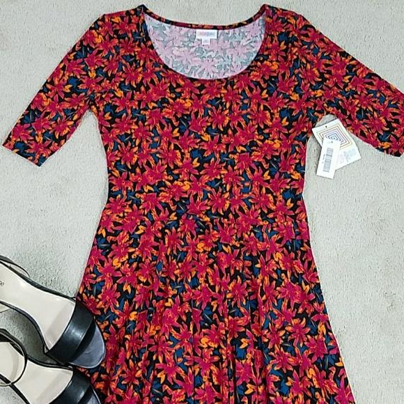 LuLaRoe Nicole dress, NWT
